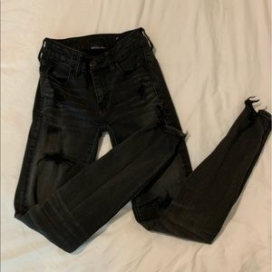 American Eagle Next level stretch black jeans 0
